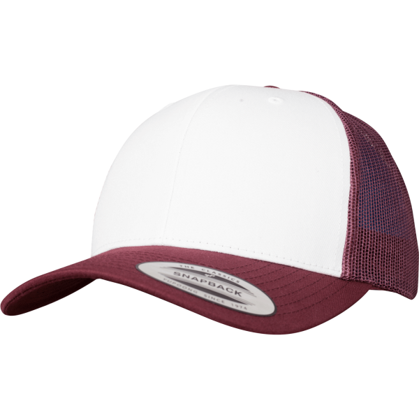 Retro Trucker Colored Front Cap