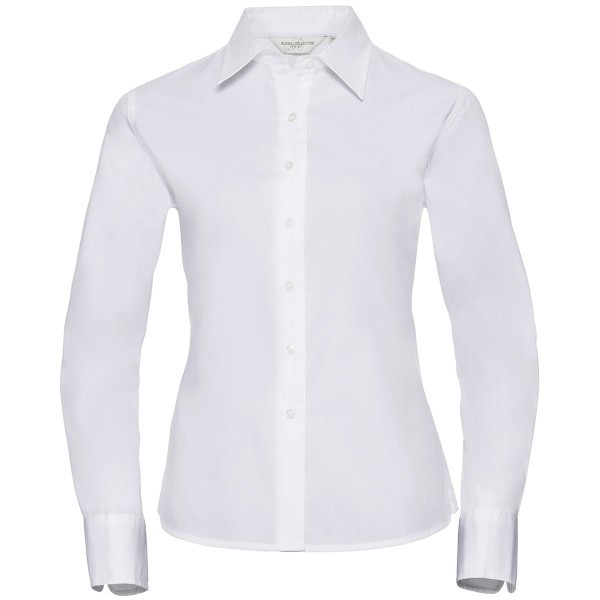 Ladies Long Sleeve Classic Twill Shirt