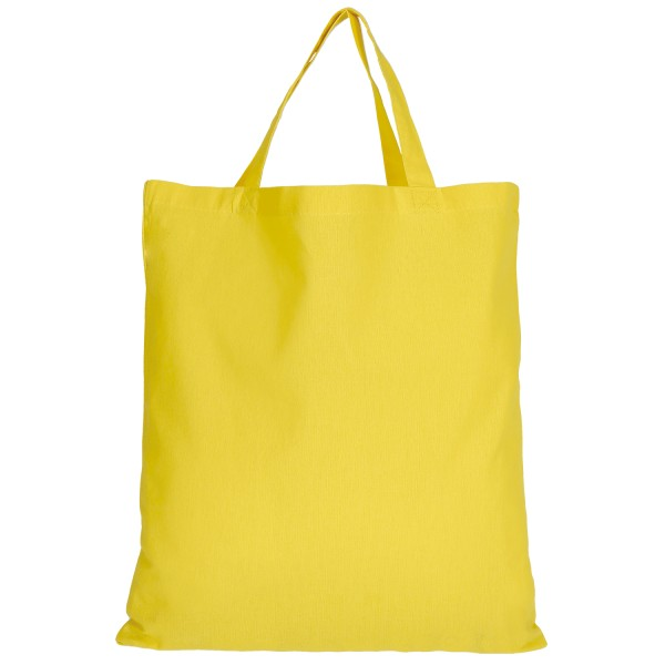 Cotton Bag Basic with two short handles