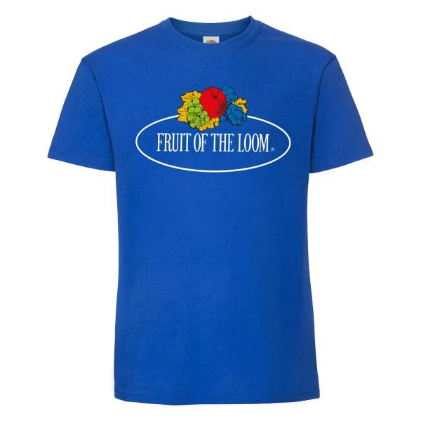 Fruit of the Loom Ringspun Premium T-Shirt mit Vintage-Logo
