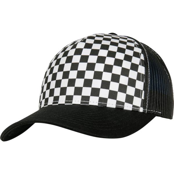 Checkerboard Retro Trucker Cap