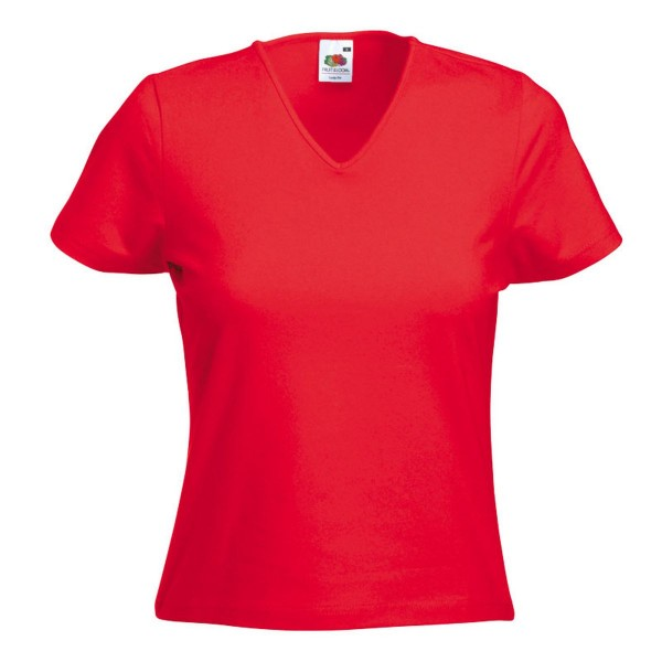 Lady Fit V-Neck-T