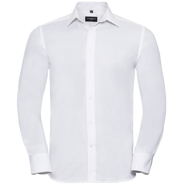 Men's Long Sleeve Tailored Oxford Shirt