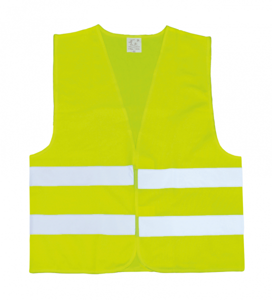 Warnweste Standard EN ISO 20471:2013 – ohne Einzelverpackung