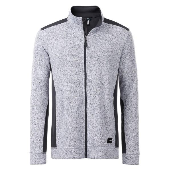 Workwear Fleece Jacke (gestrickt)