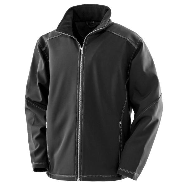 Men's Treble Stitch Softshell Jacket