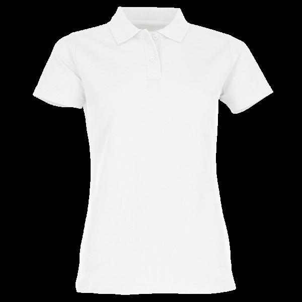 Damen Classic Mischgewebe Polo