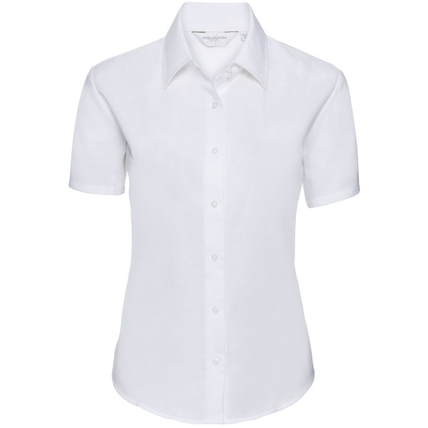 Ladies' Short Sleeve Classic Oxford Shirt