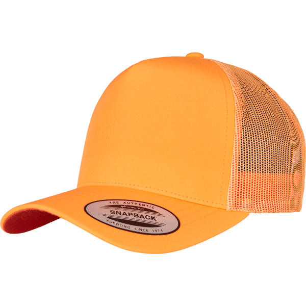 Neon Retro Trucker Cap