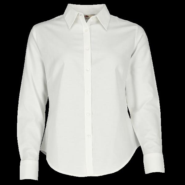 Oxford Bluse - Langarm