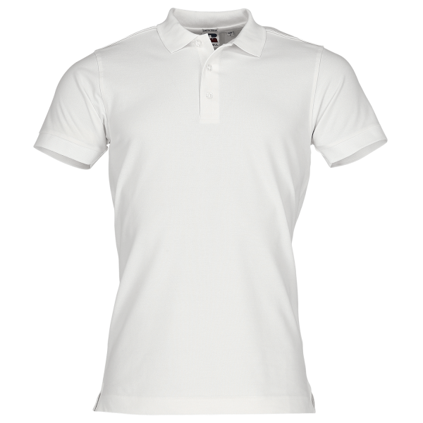 Fitted Stretch Polo