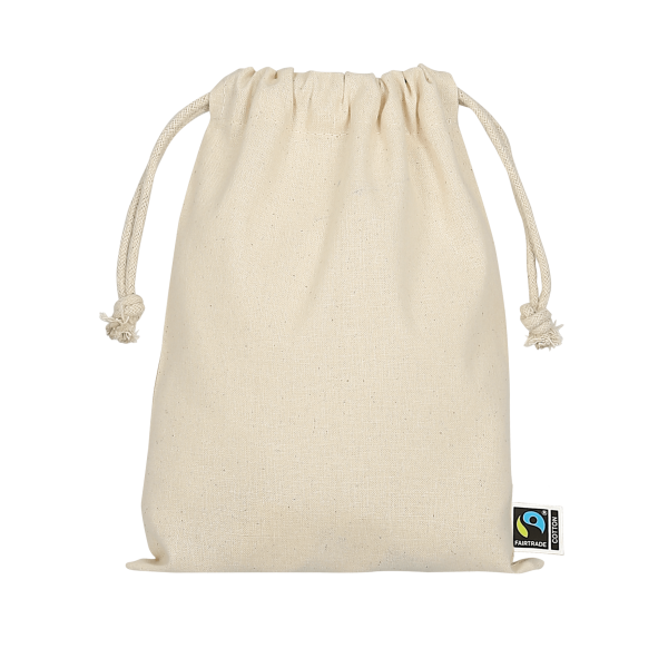 Drawstring-Pouch made of Fairtrade-Cotton