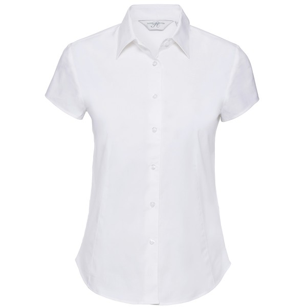Ladies' Short Sleeve Fitted