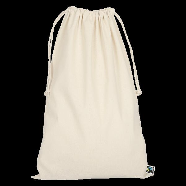Drawstring-Pouch made of Fairtrade-Cotton