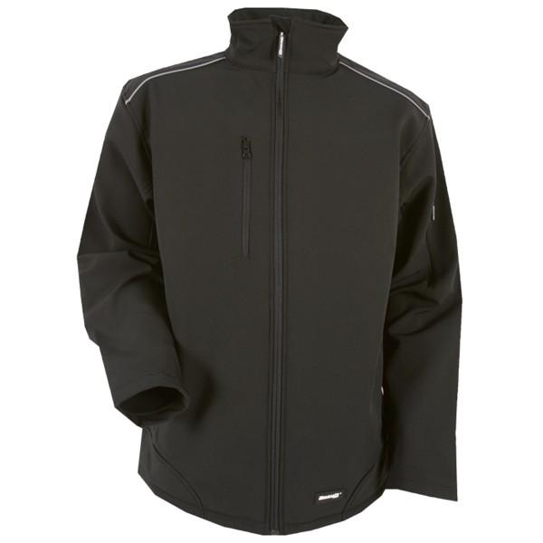 Ripstop Softshell Workwear Jacke mit Cordura