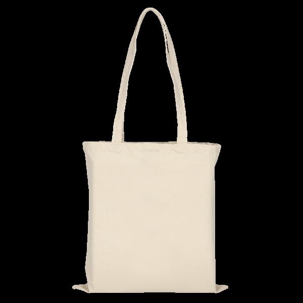 Canvas-Tasche mit zwei langen Henkeln