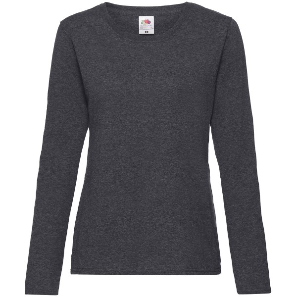 Ladies Valueweight Long Sleeve T-Shirt