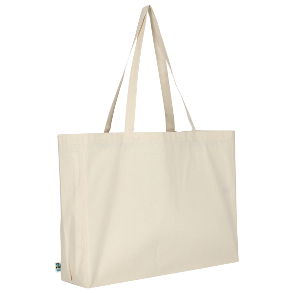 Shopper made of Fairtrade-Cotton