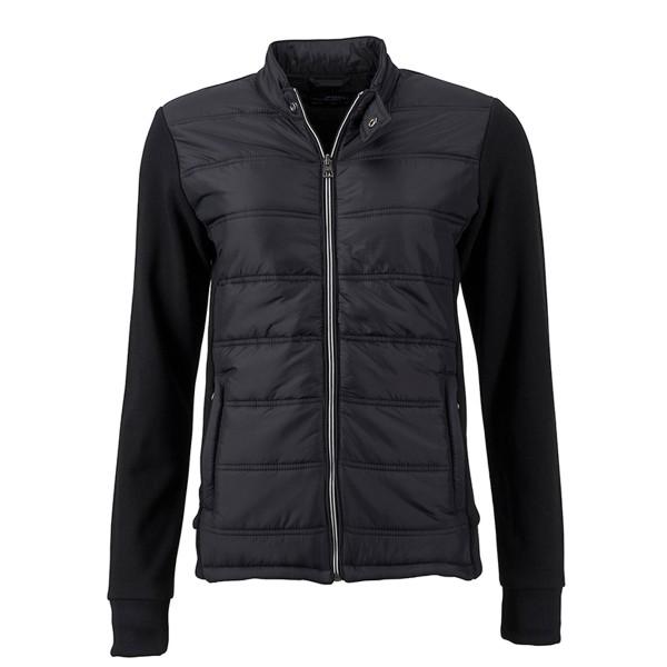 Ladies Hybrid Sweat Jacket
