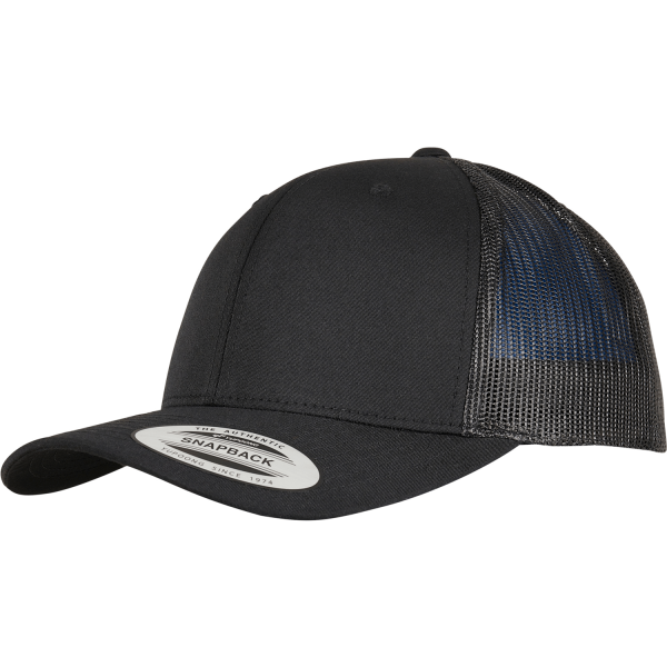 Trucker Recycled Polyester Fabric Cap