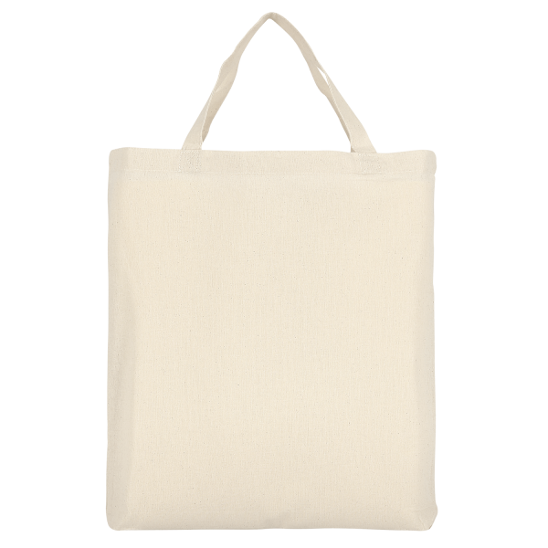 Texxilla Cotton Bag Classic with two short handles and bottom fold