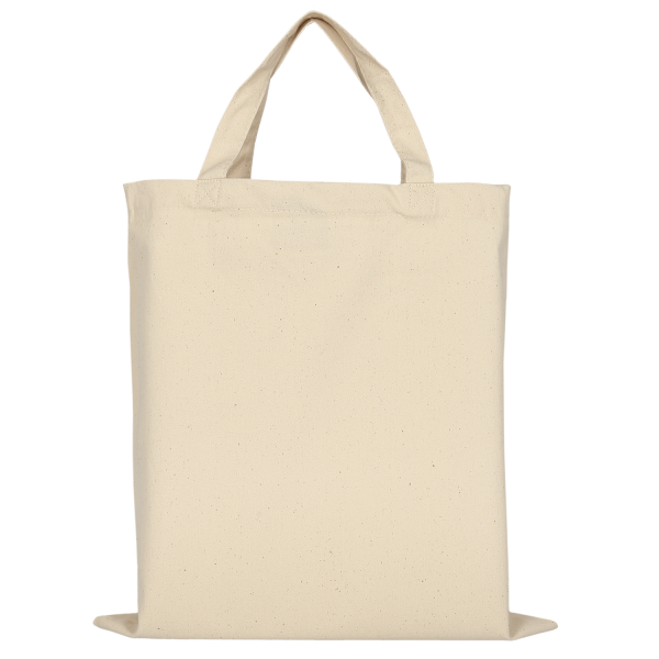 Canvas Bag with two short handles