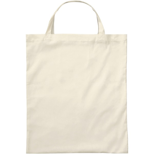 Organic Cotton Bag with two short handles