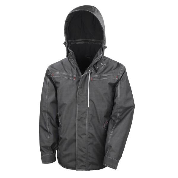 Denim Texture Rugged Jacket