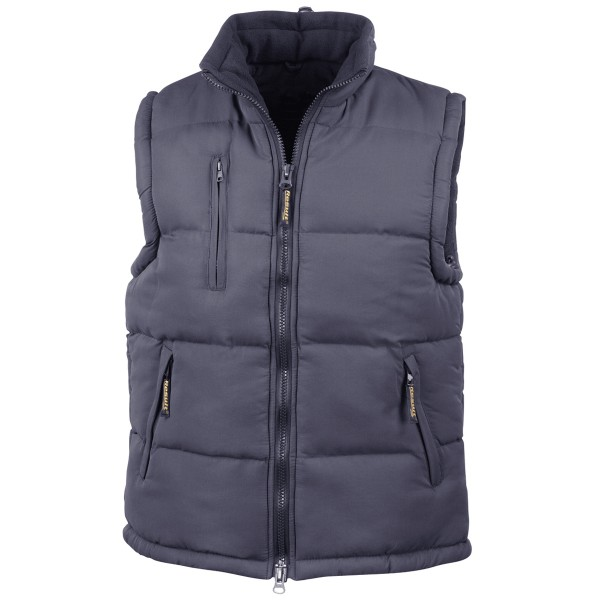 Ultra Padded Bodywarmer Fleece Hooded