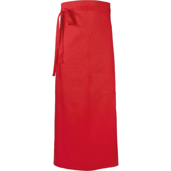 Bistro apron with slot 100x100 mixed