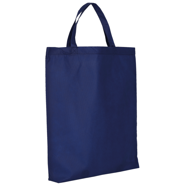 PP-Bag Classic with two short handles and bottom fold