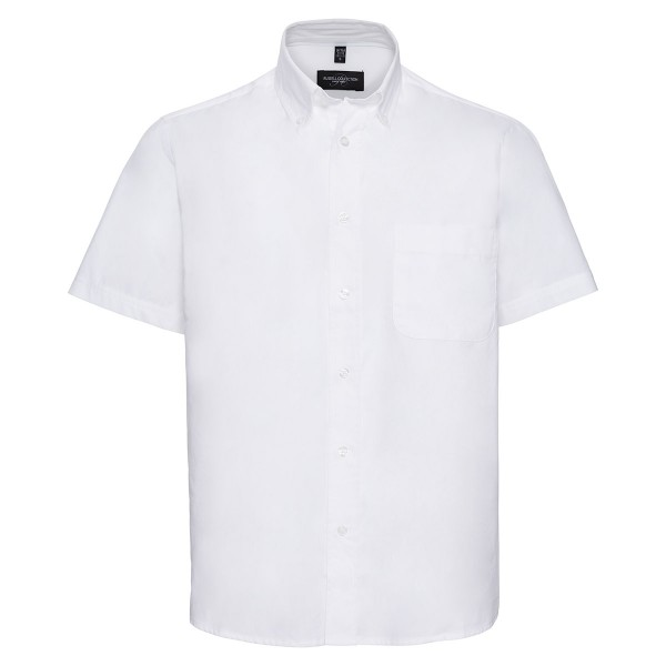 Klassisches Twill Hemd - Kurzarm