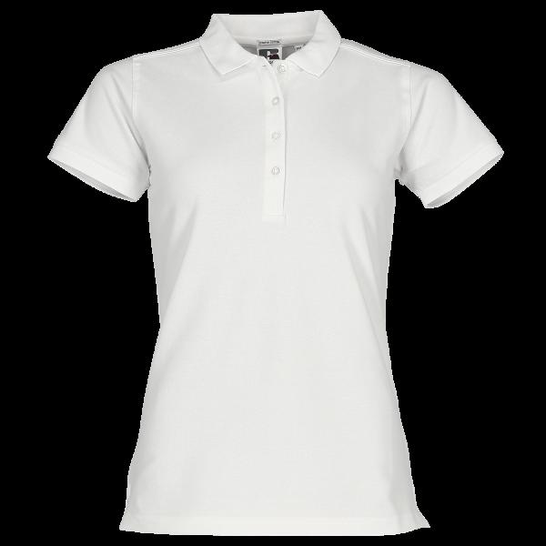 Körperbetontes Damen Stretch-Polo