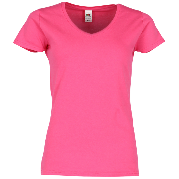 Ladies Iconic 150 V-Neck T-Shirt