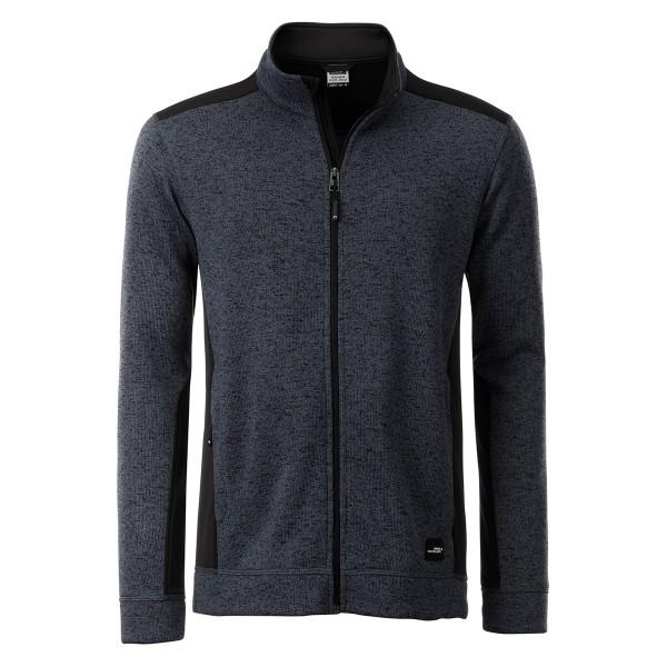Knitted Workwear Fleece Jacket