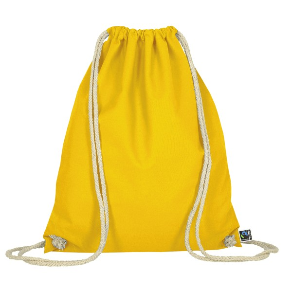 Gymsack made of Fairtrade-Cotton