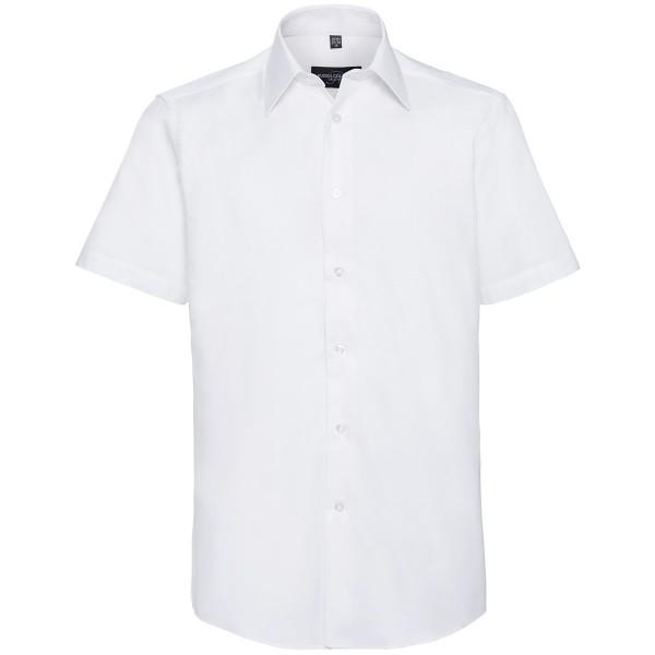 Tailliertes Oxford Hemd - Kurzarm